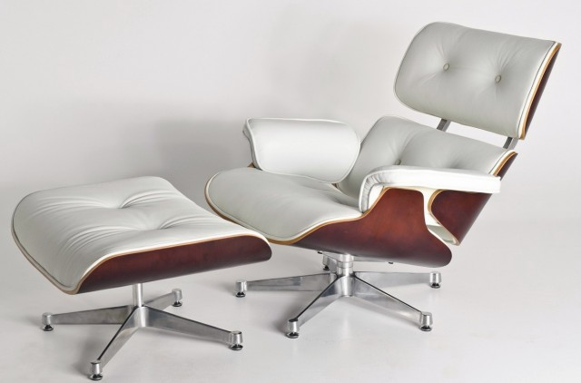 White Eames Chair Replica