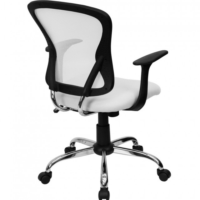 White Mesh Office Chair