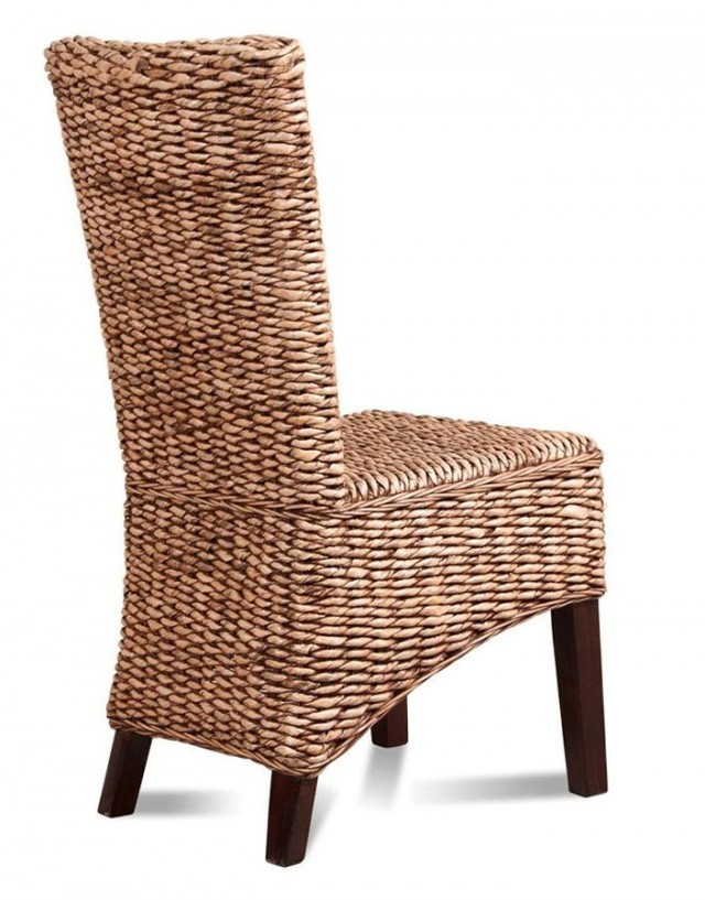 Wicker Rattan Dining Chairs