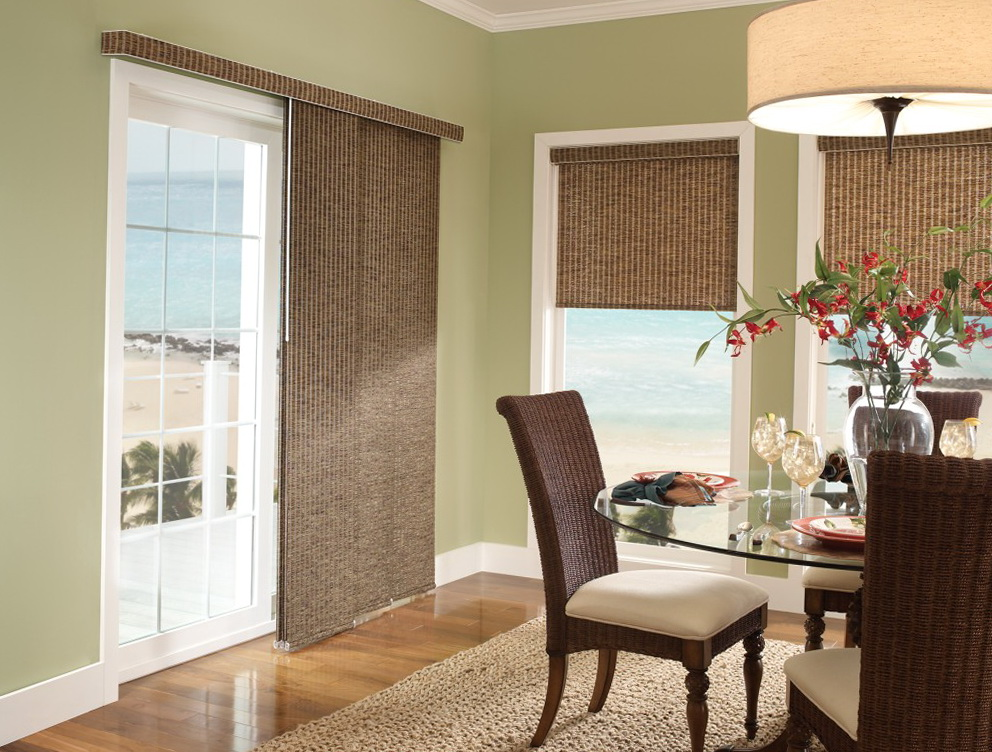 Window Coverings For Patio Sliding Doors