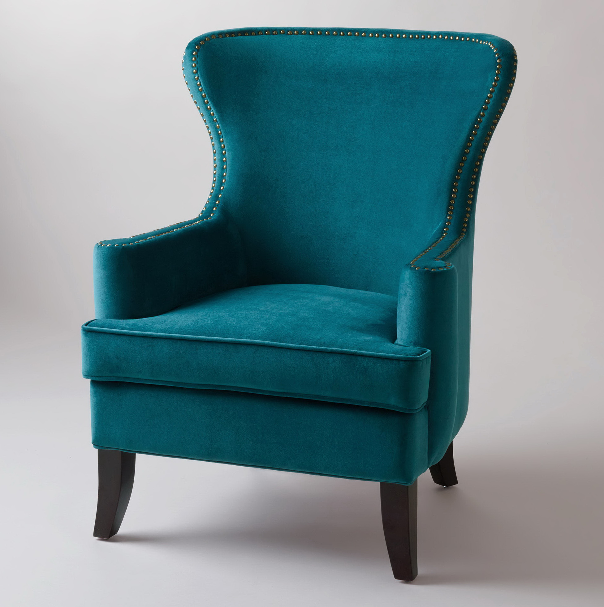 Wing Back Chairs Blue