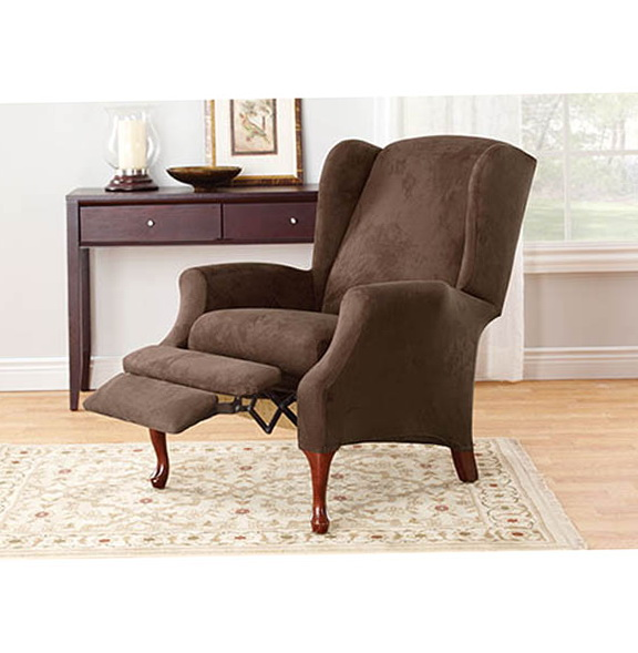 Wing Chair Slipcover Recliner