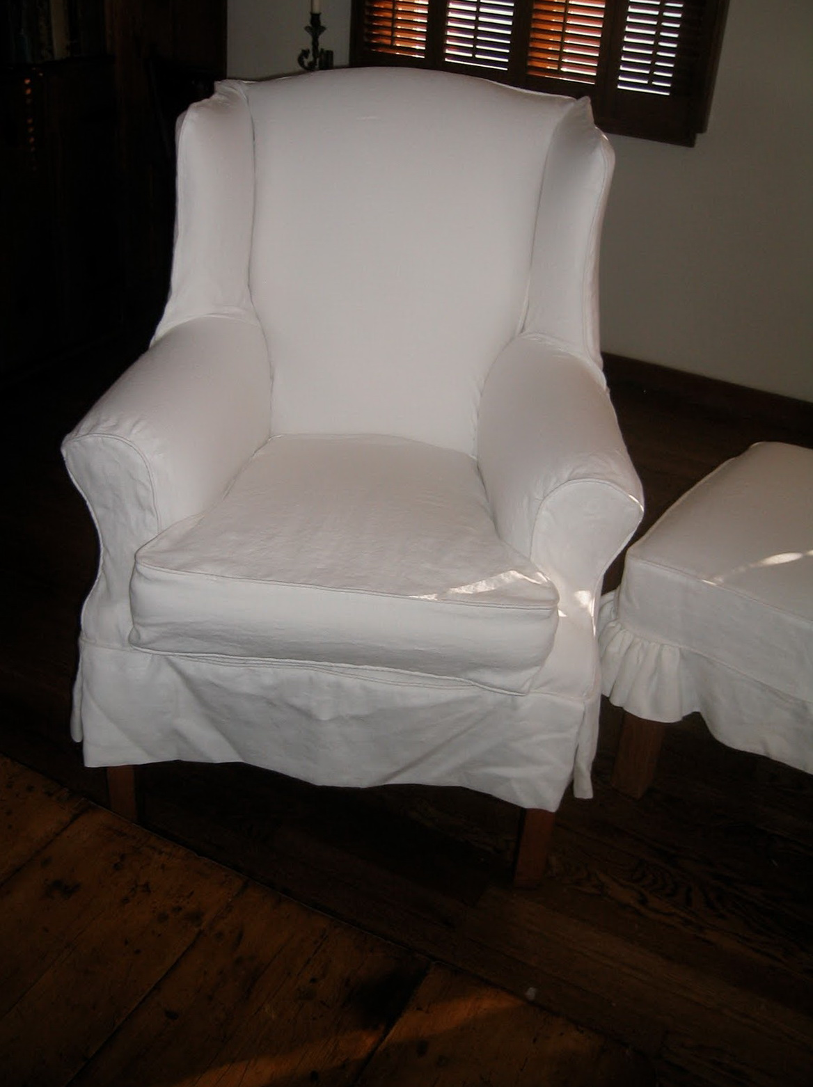 Wing Chair Slipcover Target