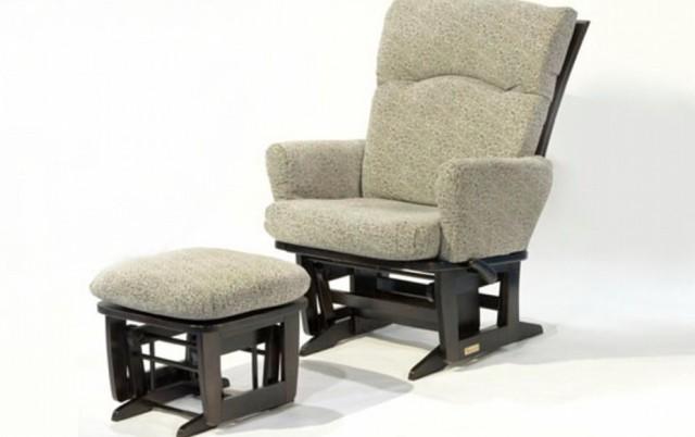 Wood Glider Rocking Chair