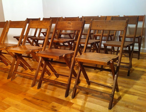 Wooden Folding Chairs For Rent