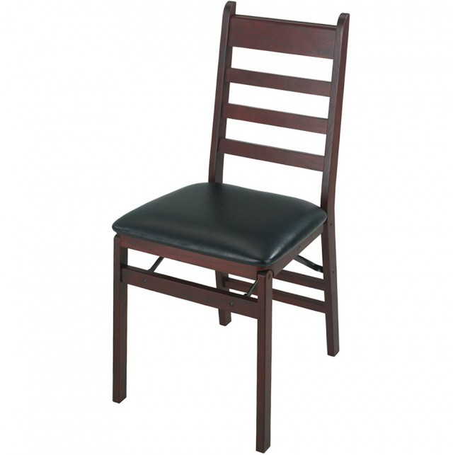 Wooden Folding Chairs With Padded Seats
