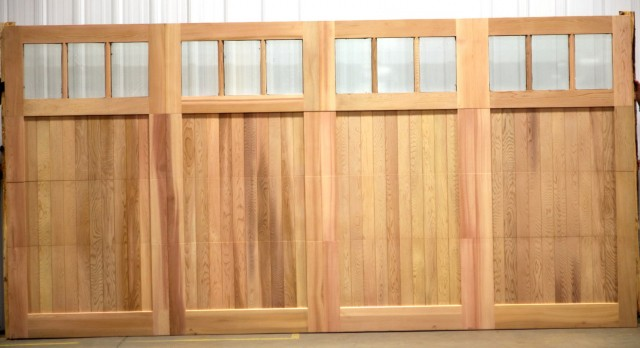 Wooden Overhead Garage Doors