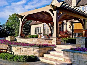 Wooden Patio Cover Kits