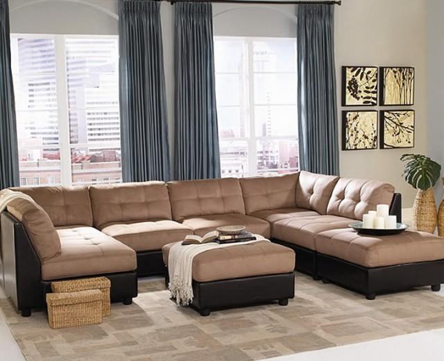 7 Piece Modular Sectional Sofa