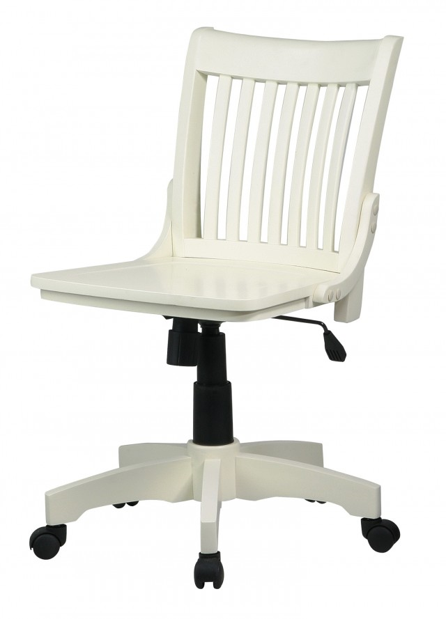 Antique White Desk Chair