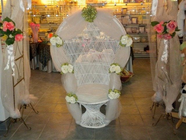 Baby Shower Chair Decorations Ideas