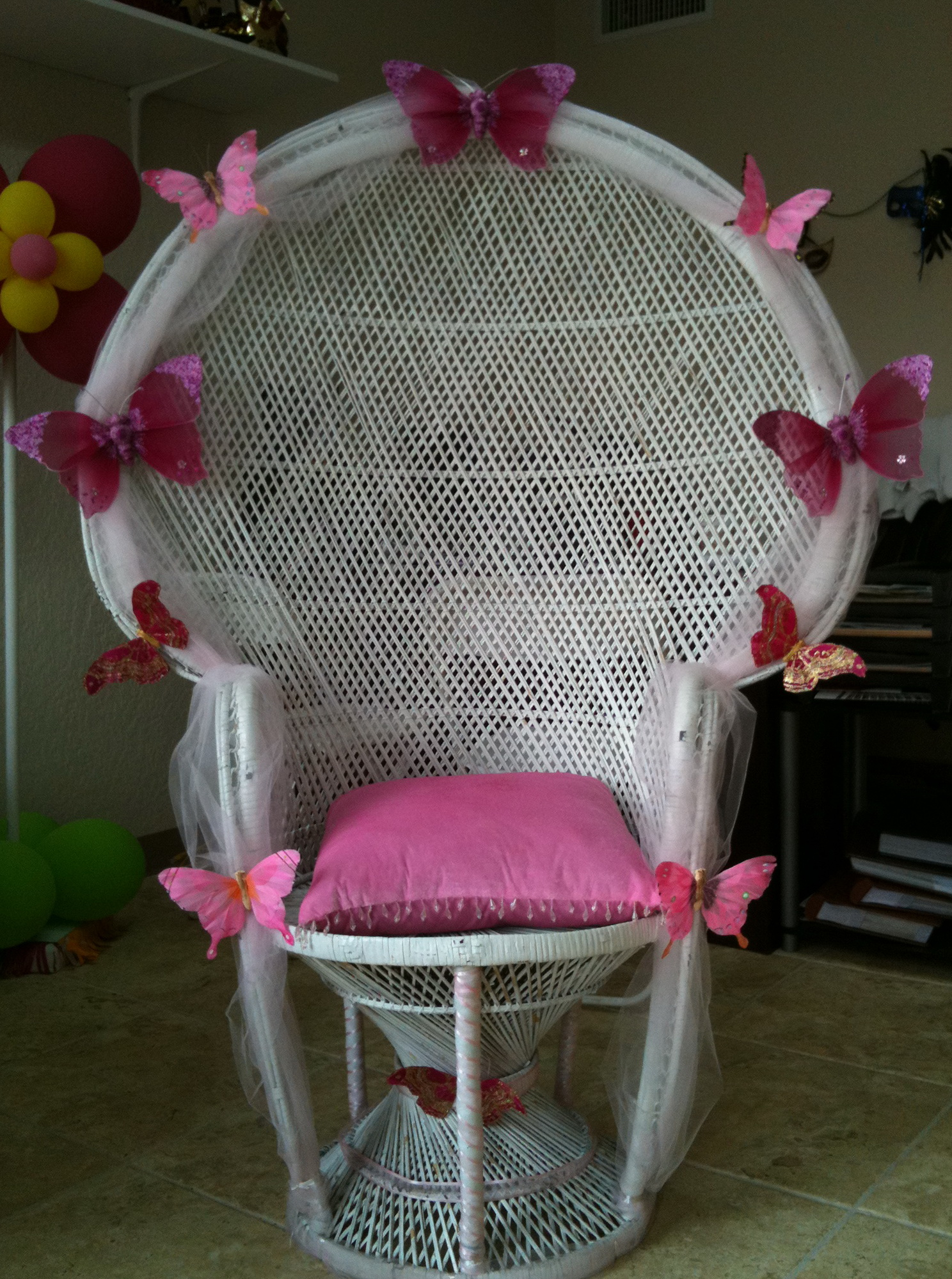 Baby Shower Chair Decorations