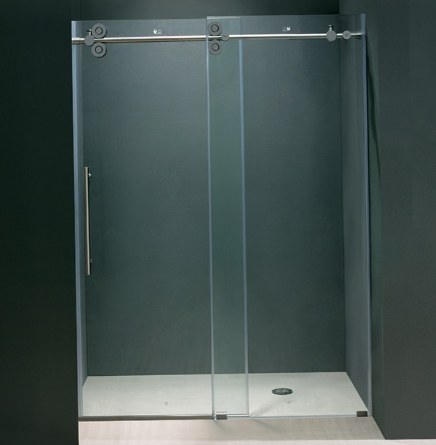 Bi Fold Frameless Glass Shower Doors