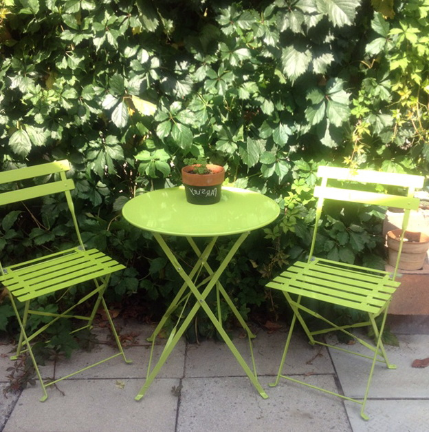 Bistro Table And Chairs Garden