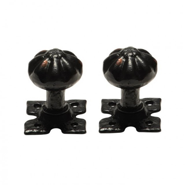 Black Antique Door Knobs