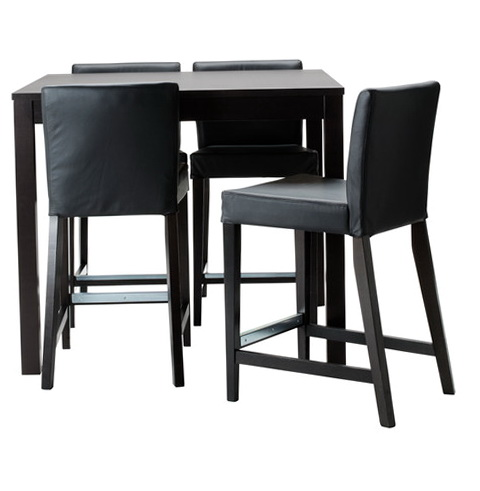 Black Bar Table And Chairs