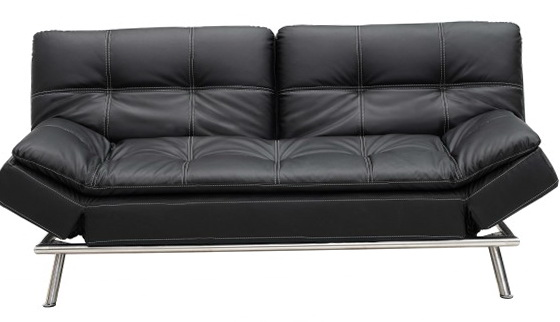 Black Click Clack Sofa Bed