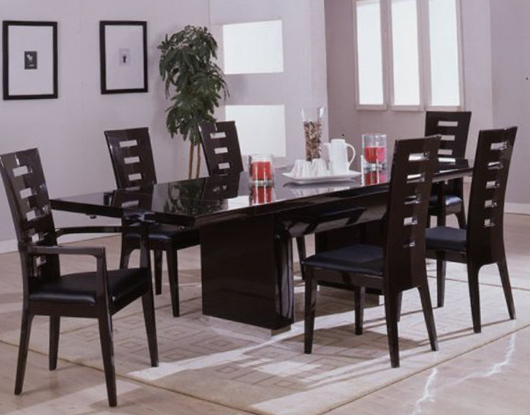 Black Dining Room Tables And Chairs