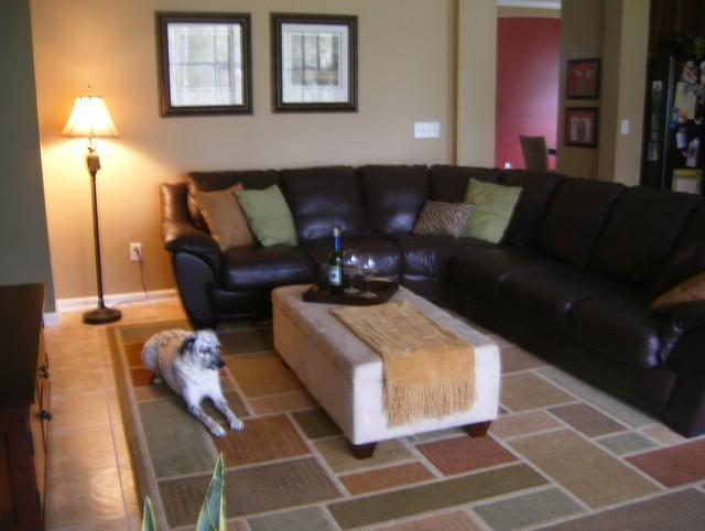 Black Leather Sofa Interior Design