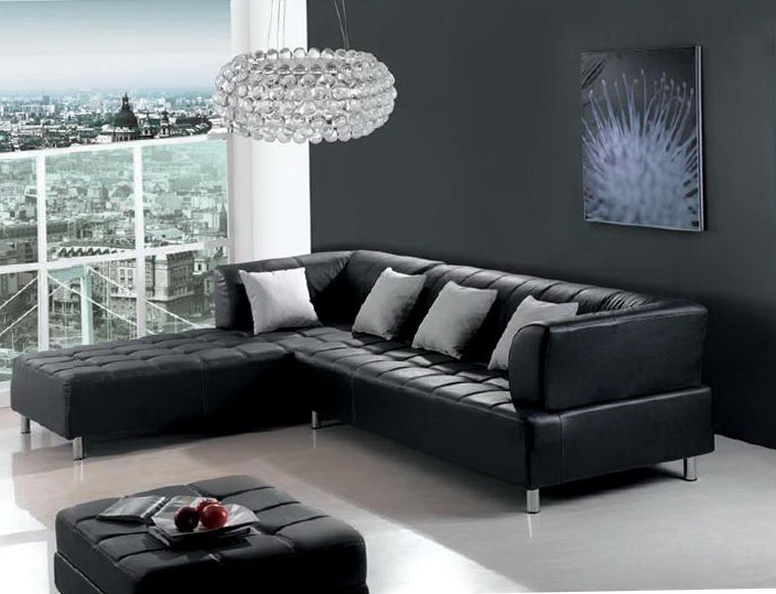 Black Leather Sofa Room Ideas