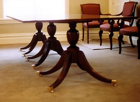 Brass Chair Leg Caps
