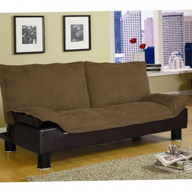 Brown Click Clack Sofa Bed