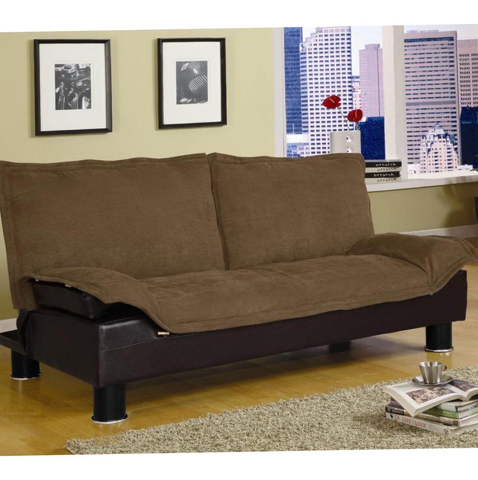 Brown Click Clack Sofa Bed