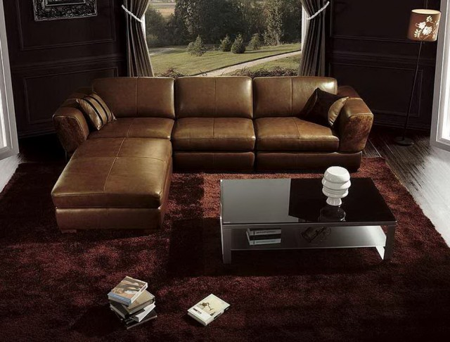 Brown Leather Sofa Room Ideas