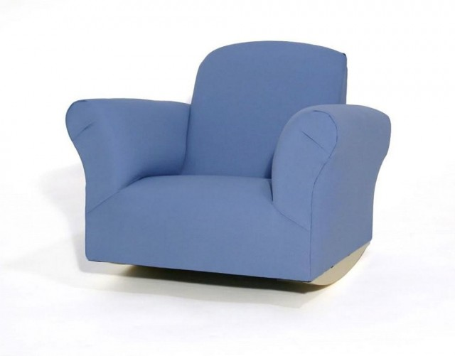 Child Upholstered Rocking Chair