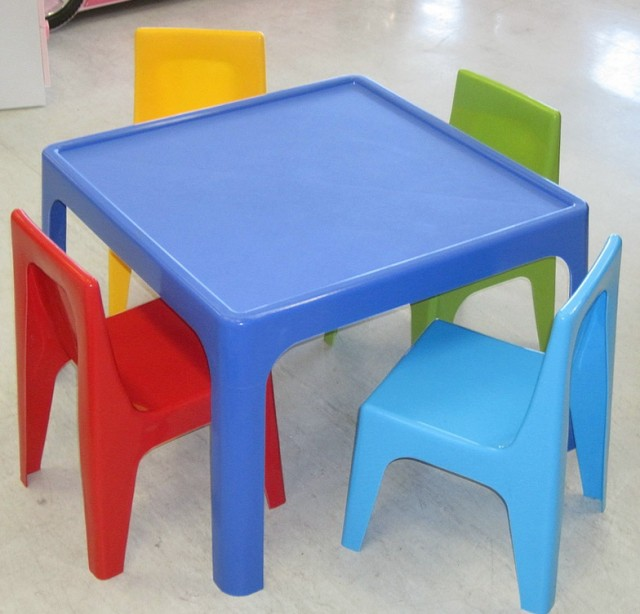 Childrens Table And Chair Set Plastic