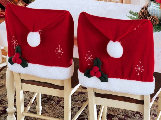 Christmas Chair Seat Covers