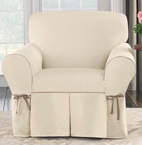 Club Chair Slip Covers