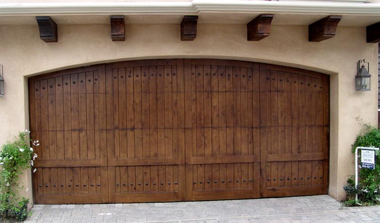 Composite Wood Garage Doors