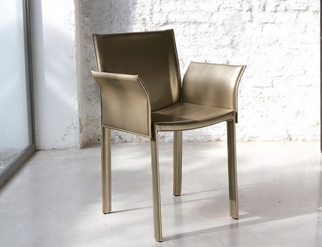 Contemporary Dining Chairs With Arms