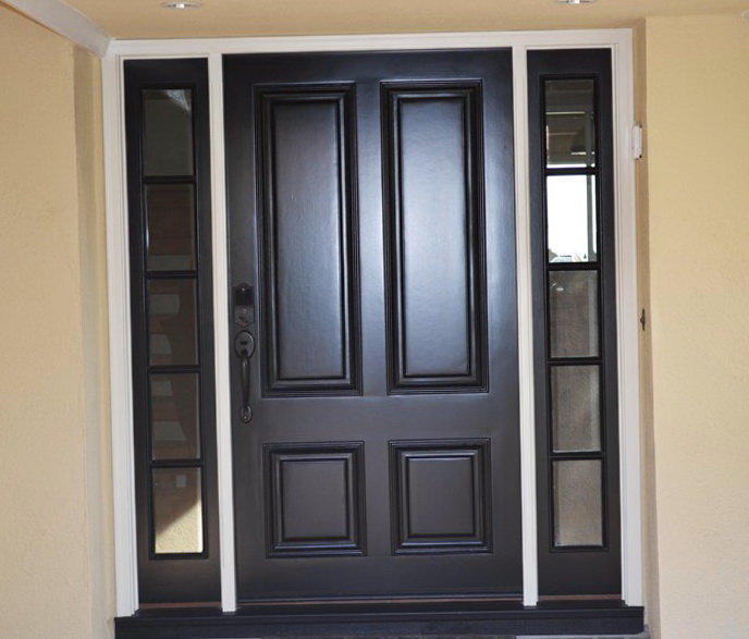 Contemporary Fiberglass Entry Doors