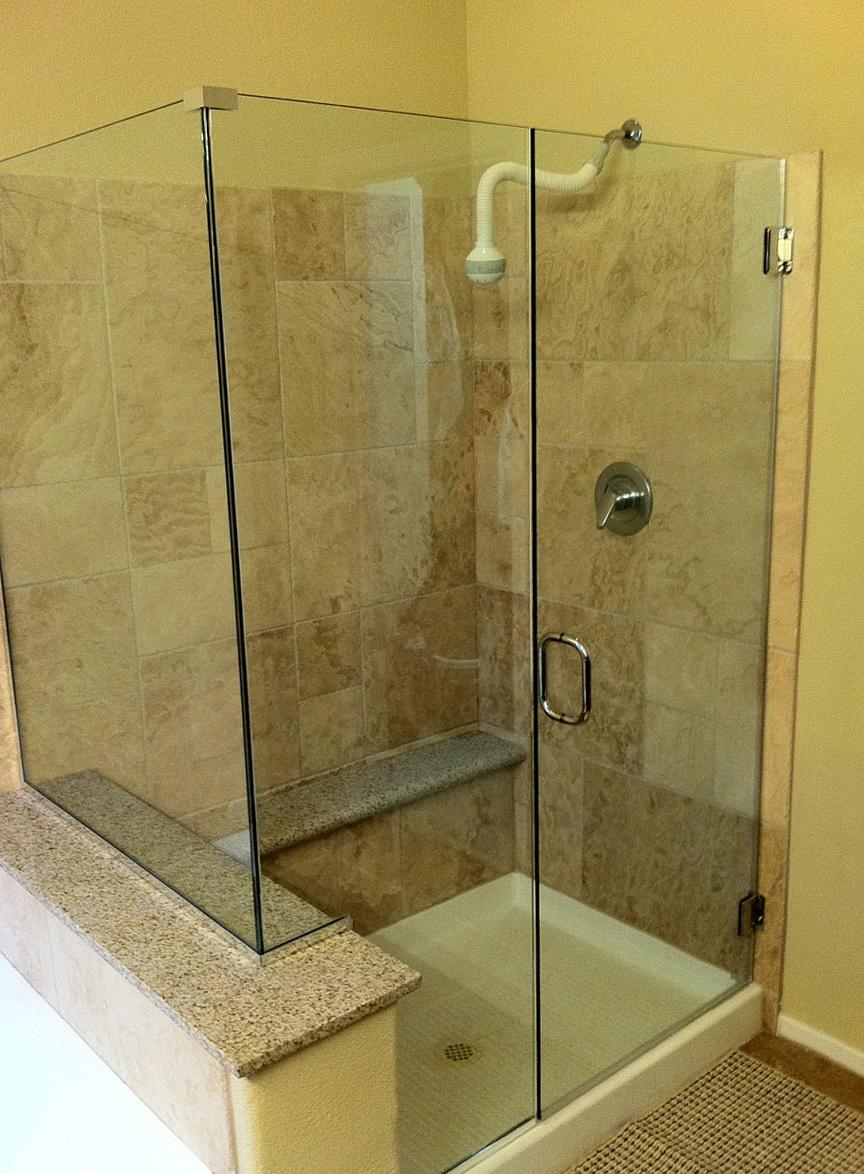 Corner Shower Glass Doors