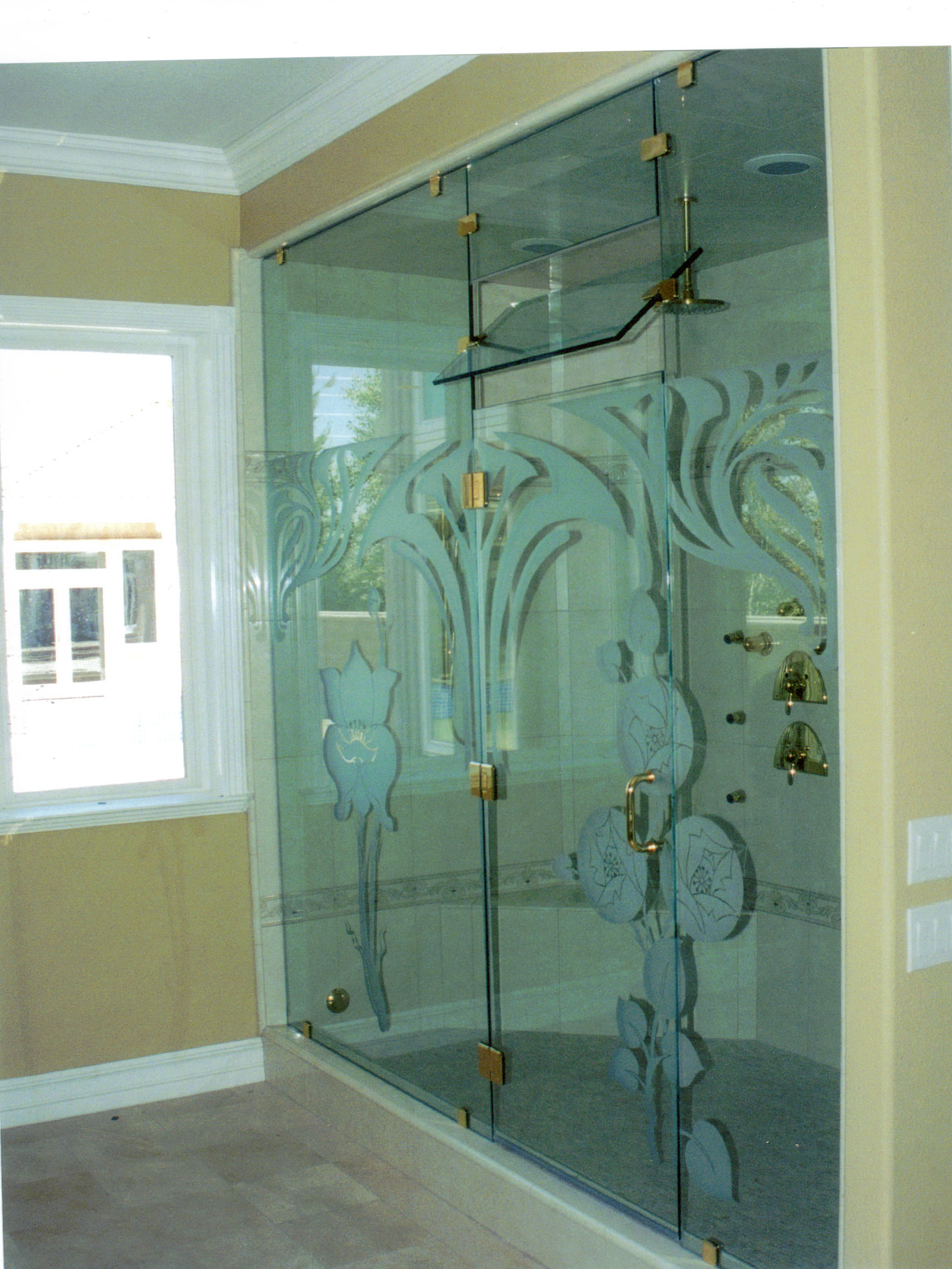 Custom Shower Glass Doors