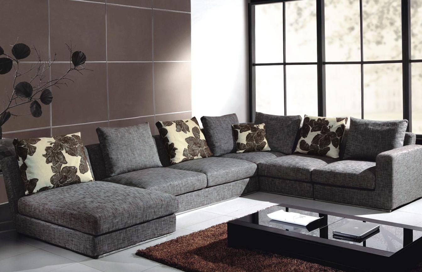 Dark Gray Sectional Sofa