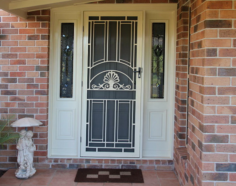 Decorative Security Screen Doors