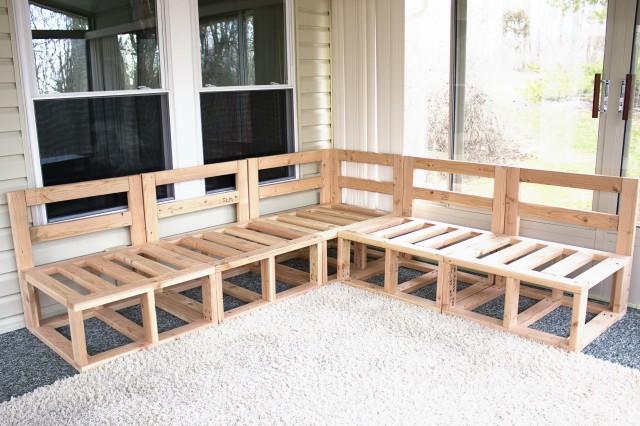 Diy Outdoor Sectional Sofa Plans