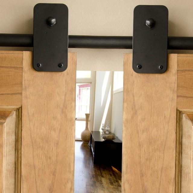 Double Barn Door Hardware Kit