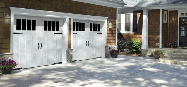Double Carriage Garage Doors