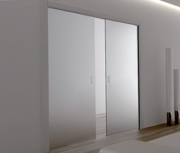 Double Entry Doors With Glass