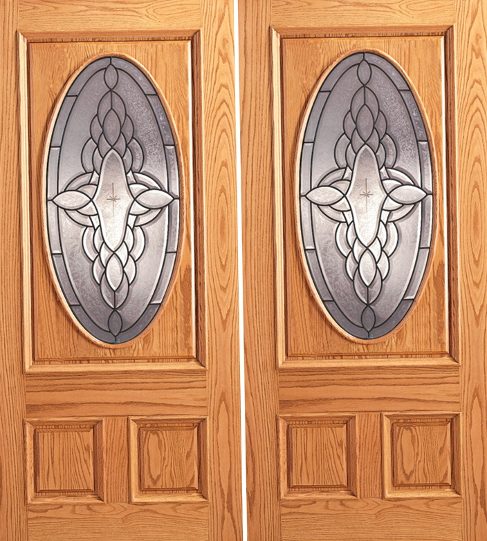 Double Entry Doors Wood