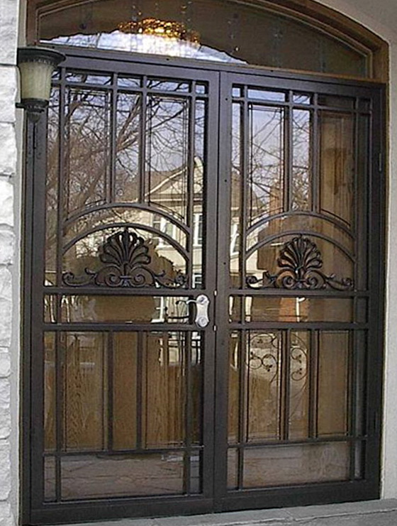Double Security Screen Doors