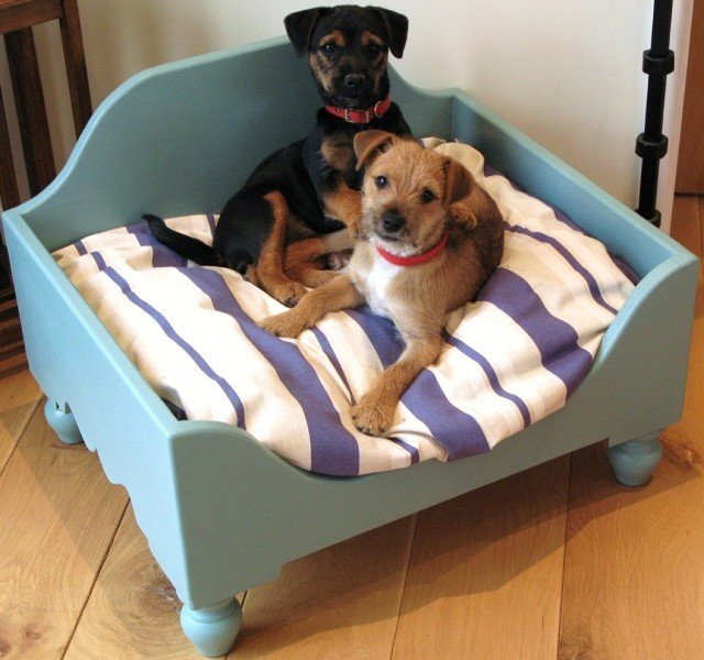 Elevated Dog Bed Wood