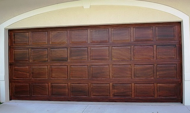 Faux Wood Garage Doors Cost