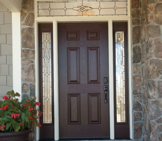 Fiberglass Entry Doors With Sidelights And Transom