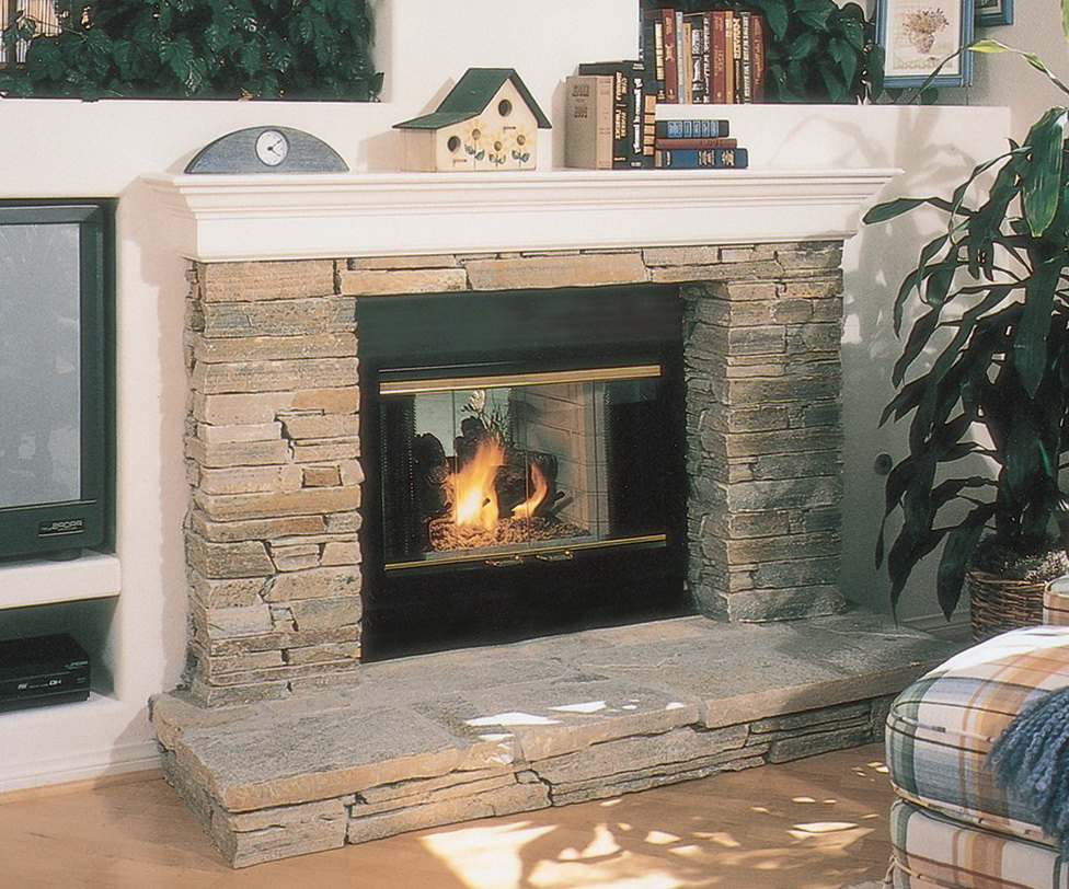 Fireplace Glass Doors Open Or Closed