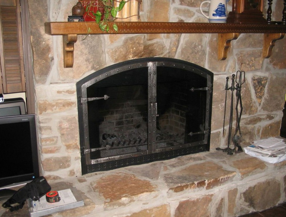 Fireplace Glass Doors San Antonio